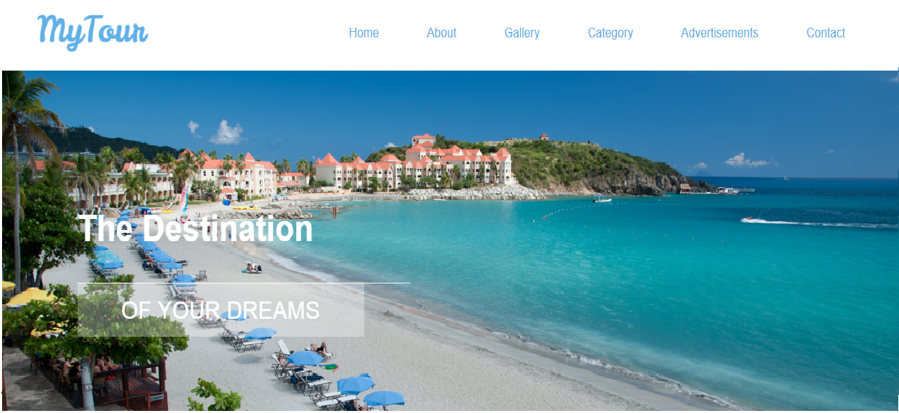 Online Tourism Management System